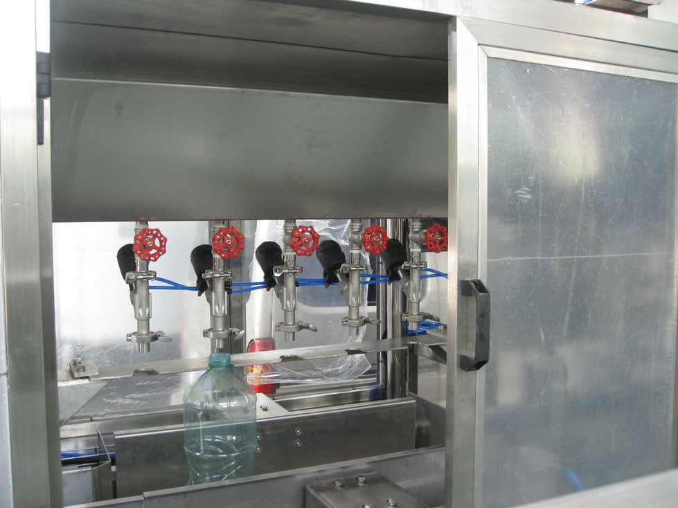 Precision Automatic Bottle Filling Machine Linear Type For Bottled Water