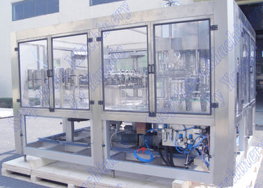 5,5 KW Daya Apple Juice Bottling Machine 95 derajat Mengisi Suhu Tinggi