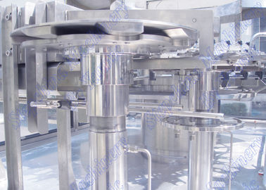 Apple / Orange / Anggur Buah Iced Tea Hot Filling Machine / Botol Aseptic Juice Processing Line