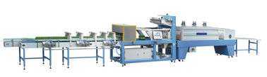Shrink Wrap Plastic Film Mesin Packing / Shrink Packing Machine Kecepatan Tinggi